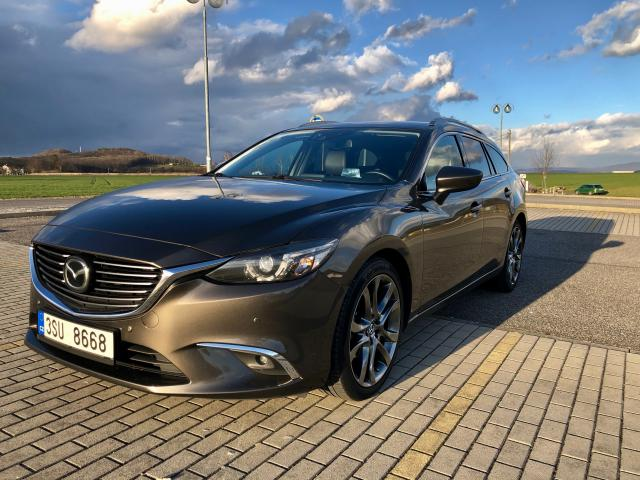 MAZDA 6 2,2 Skyactiv-D, AT, WGN, Revolution TOP
